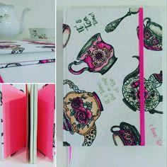 Cuaderno Té con rosa ❤