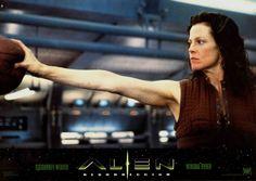 Sigourney Weaver. Alien Resurrection.