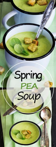 Weight Loss Spring Pea Soup – Food Diet Secret