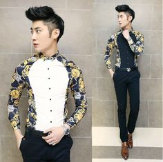 Find More Casual Shirts Information about 2015 Newest Style Men Shirts Charming Asian Men Clothing Slim Fit Fashion Casual Shirts,High Quality shirt skirt long jacket,China shirt sleeve shirts Suppliers, Cheap shirt parts from HOTI STYLE on Aliexpress.com