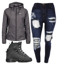 """Untitled #317"" by kierstinthesavage ❤ liked on Polyvore featuring NIKE and Retrò"