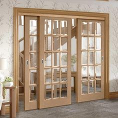Internal Sliding Doors - Internal Sliding Door Kits - Direct Doors UK - July 28 2019 at Living Room Sliding Doors, Wooden Sliding Doors, Sliding French Doors, Internal Sliding Doors, Sliding Door Design, Room Divider Doors, Front Door Design, Indoor Glass Doors, Sliding Door Window Treatments