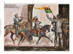 Forces of the Hanseatic League; cavalry & allies, 1425-1500
