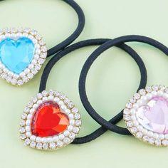 Sparkling Heart Hair Tie - Blippo Kawaii Shop