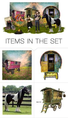 """""""Gypsy summer camp"""" by sue-wilson1967 ❤ liked on Polyvore featuring art"""