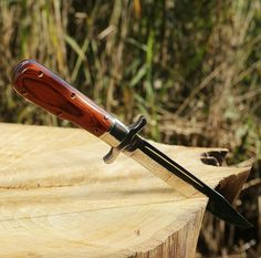 Amazon.com : Tactical Folding Survival Finnish Knife - Large Dagger with Wood Handle - Long Blade - Everyday Self Defense Knife - Good for Fighting and Rescue Hunting and Camping - Military Knife - Grand Way 12 KG : Sports & Outdoors