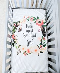 Faux Fur and Minky Blanket Floral Wreath by DevilishlyDetailed