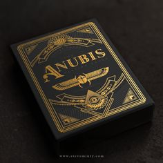 The Anubis and Osiris Playing cards is an original set of American playing cards designed by Steve Minty. These decks are inspired by the luxurious reverence of