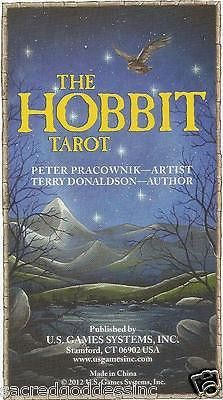 Enter the world of The Hobbit and allow the powerful imagery of the tarot to guide you through this mystic realm. Following the hero's quest along his many adventures, The Hobbit Tarot helps us unders