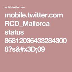mobile.twitter.com RCD_Mallorca status 868120364332843008?s=09