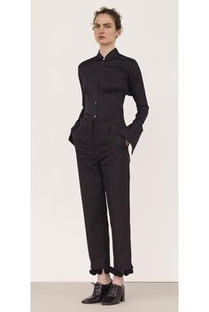 Céline Resort 2015 - Collection - Pom Pom trimmed trousers