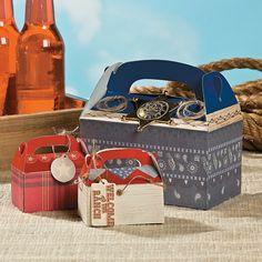 Cowboy Favor Box - OrientalTrading.com