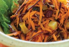 Sweet Carrot Salad.