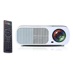 Makes you feel like bringing back home a movie theater ... iRULU Portable Multimedia 2600 Lumens Mini LED Projector with VGA USB SD AV HDMI for Home Cinema Theater, Child Games or Business Presentations and Meetings White - For All Offices Products Item Catalog (II)