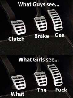 Car controls – how guys and girls see it http://ibeebz.com