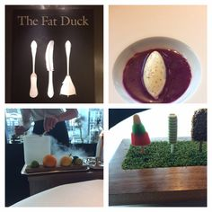 This image represents The Fat Duck brand, and the dishes served in the restaurant.  Figure 9