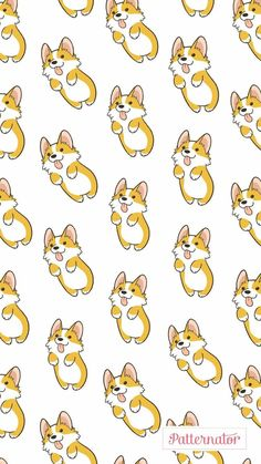 dog wallpaper Dogs Wallpaper Pattern Animals 48 Id - dog Dog Wallpaper, Corgi Wallpaper Iphone, Tier Wallpaper, Kawaii Wallpaper, Animal Wallpaper, Pattern Wallpaper, Iphone Wallpapers, Cute Disney Wallpaper, Cute Cartoon Wallpapers