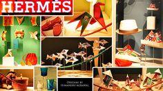 Origami for Hermes India by Himanshu (Mumbai, India), via Flickr