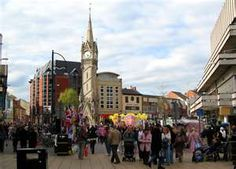 City Centre in Leicester..spent so much time here!