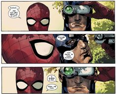 """Avenging Spider-Man and Captain America ~ """"Did you get beat up a lot?"""""""