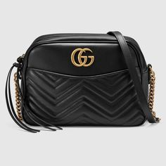 Gucci Women - GG Marmont matelassé shoulder bag - 443499DRW1T1000