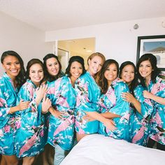 Loving these girls and their robes! #sanfranciscoweddingphotographers #weddings