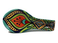 Peacock Spoon Rest Talavera Spoon Rest Mexican Spoon Rest