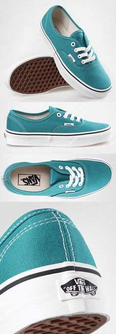 Women s Vans Authentic    Deep Lake Blue Vans Shoes 53480b0d62
