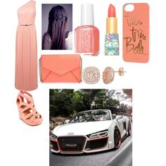 Untitled # 26 by miraclefentry on Polyvore featuring polyvore fashion style Miss Selfridge Kate Spade Rifle Paper Co tarte Essie Spyder