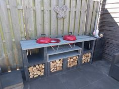 Outdoor kitchen BBQ you items - Small Outdoor Patios, Outdoor Sheds, Outdoor Gardens, Outdoor Living, Back Gardens, Balcony Furniture, Diy Outdoor Furniture, Outdoor Decor, Bbq