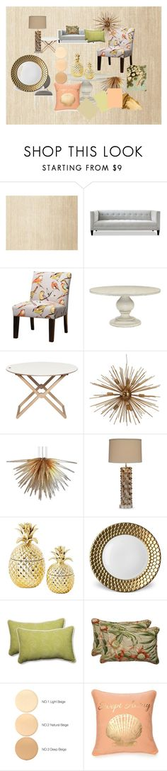 """színek"" by aniko-nemeth-1 ❤ liked on Polyvore featuring interior, interiors, interior design, home, home decor, interior decorating, Calvin Klein, Bernhardt, Viz Glass and L'Objet"