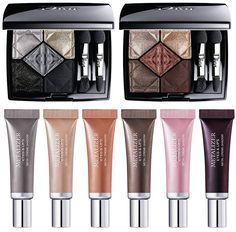 Dior Metallics Fall 2017 Collection is one of the most expected collections of the season, bringing new makeup items both new and limited edition.