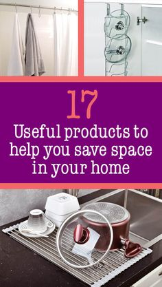 17 Useful Products To Help You Save Space In Your Home (items from the UK, don't think it'd be hard to find in the US) *