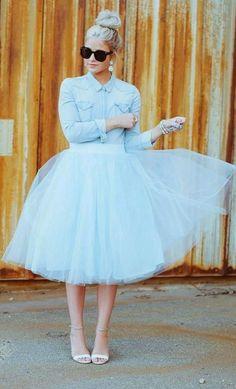 Hand Tailored Women&Ladies Tutu Skirt Holiday Celibration Formal Nice Wear Skirt