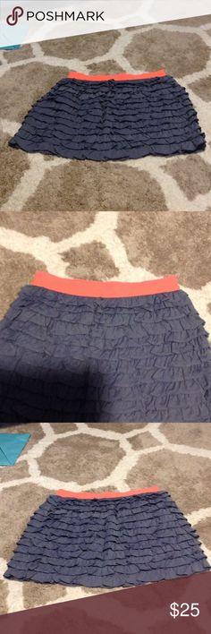 J.Crew Factory ruffle skirt Ruffle skirt J. Crew Factory Skirts Mini