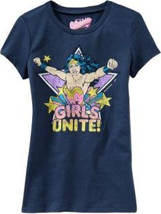 Old Navy Graphic for Girls, WONDER WOMAN!
