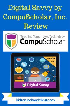 Digital Savvy by CompuScholar Inc review, homeschool computer course