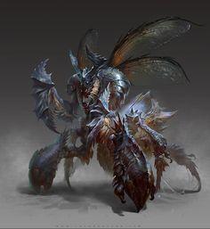 Exterminati sunt  Una raza de insectos que consiguieron inteligencia y un aumento de tamaño significativo llegando a medir de 1.65 a 2.30 su fisonomía varia    Peligro 7-11