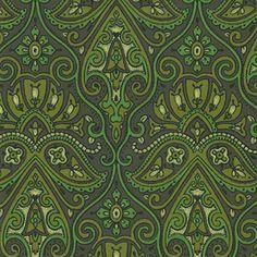 Fabulous Green Vintage Original Wallpaper | eBay
