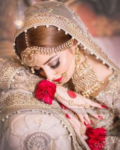 Check out Alizeh Shah Beautiful Bridal Photoshoot for Faiza Salon - Style.