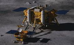 China Lands on The Moon With a Robotic Lander and Rover