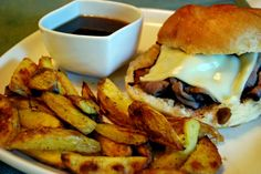 Life Tastes Good: French Dip Sandwiches and Baked French Fries