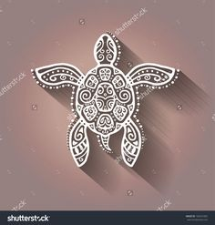 Find Decorative Graphic Turtle Tattoo Style Tribal stock images in HD and millions of other royalty-free stock photos, illustrations and vectors in the Shutterstock collection. Tribal Turtle Tattoos, Cute Animal Tattoos, Cute Turtle Tattoo, Tattoo Animal, Tortoise Tattoo, Sea Turtle Art, Tribal Animals, Sea Glass Crafts, Animal Totems