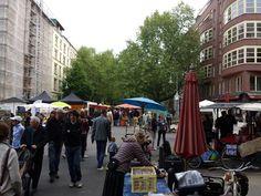 Kollqitzplatz: Farmers Market in Berlin