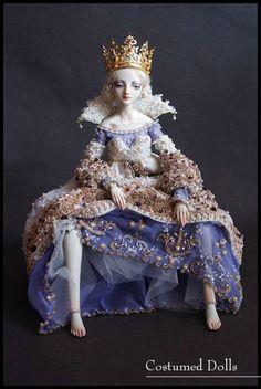 Bonecas Russas de porcelana da artista Marina Bychkova
