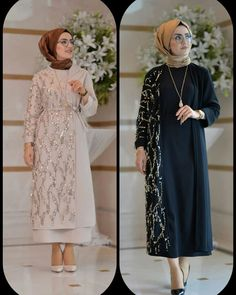 ✔ Fashion Dresses Party For Boys Dress Brokat, Kebaya Dress, Abaya Fashion, Fashion Dresses, Moslem Fashion, Hijab Dress Party, Mode Abaya, Hijab Fashionista, Stylish Clothes For Women