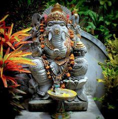 Statue of Ganesha at Ubud, Bali