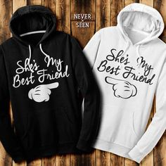 See more CRAZY, FUNNY matching BFF tees, from Skreened: