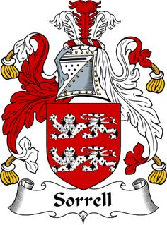Sorrell Coat of Arms