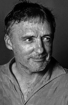 Dennis Hopper (1936-2010) - American actor, filmmaker, photographer, and artist. Photo by Brian Hamill